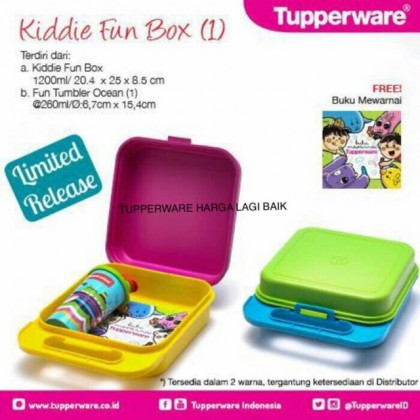 Tupperware Kiddies Fun Box