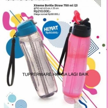 Tupperware Xtreme Bottle with straw