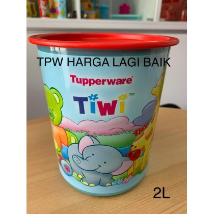 Tupperware Poppy, Froggy , Tiwi One Touch Canister (1pc)
