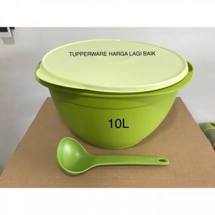Tupperware Legacy Bowl 10L + Ladle
