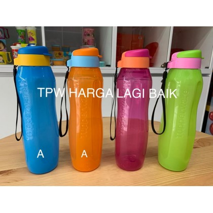 Tupperware Eco Slim Bottle 1L with Strap