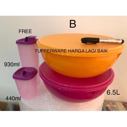 Tupperware Fix n Mix Bowl + FREE