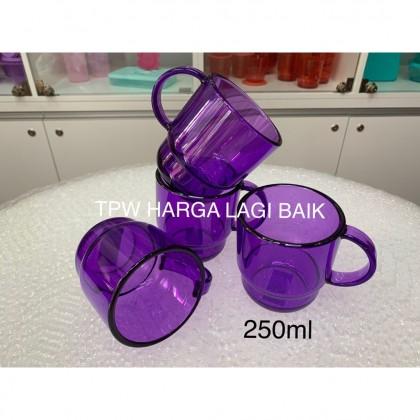 Tupperware Clear Mug (4pcs)