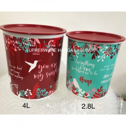 Tupperware Mother Canister (2pcs)