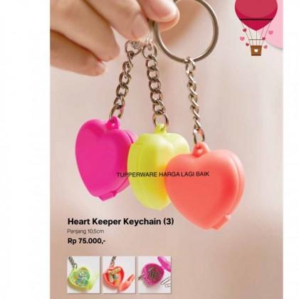 Tupperware Heart Keychain (3pcs)
