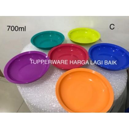 Tupperware Cresendo Plate (4pcs)
