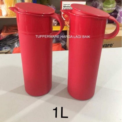 Tupperware Lucky Red Pitcher