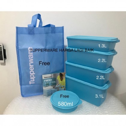 Tupperware Freshlime / Freshia / Freshness Collection Set