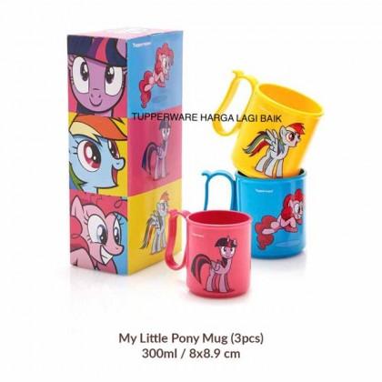 Tupperware Pony Mug Set