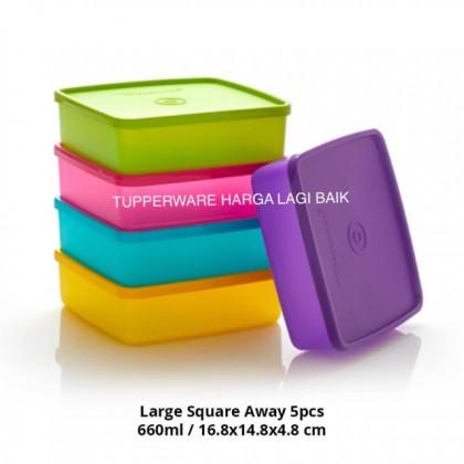 BIG SALESTupperware Large Square Away (5pcs)