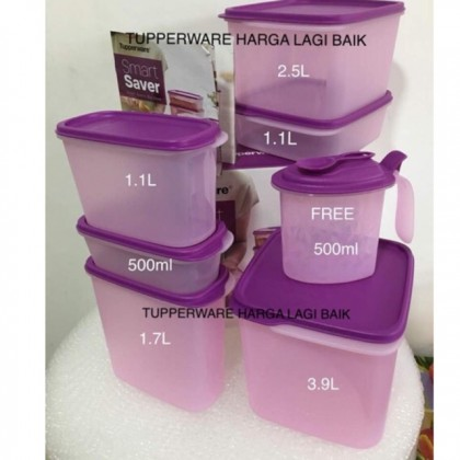 Tupperware Smart Saver (free 1pc bumbu container)