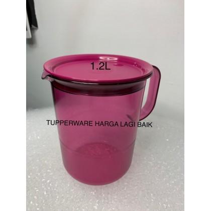 Tupperware Fucshia Table Collection Jug,  Clear Mug and Tray