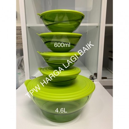 Tupperware Elegansia Bowl (5pcs)