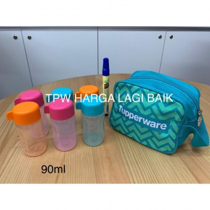 Tupperware Mini Eco Bottle with Pouch