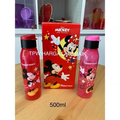 Tupperware Eco Mickey Minnie Bottle 500ml